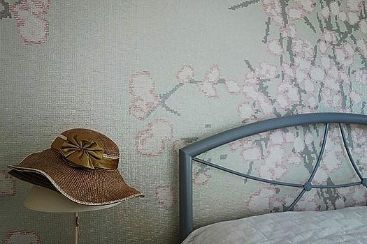 chambre choix de peinture et papier pein