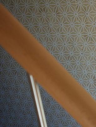 décoration entrée et papier peint
