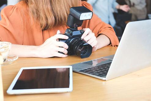 Arbeit im Klassenzimmer Fotoworkshop