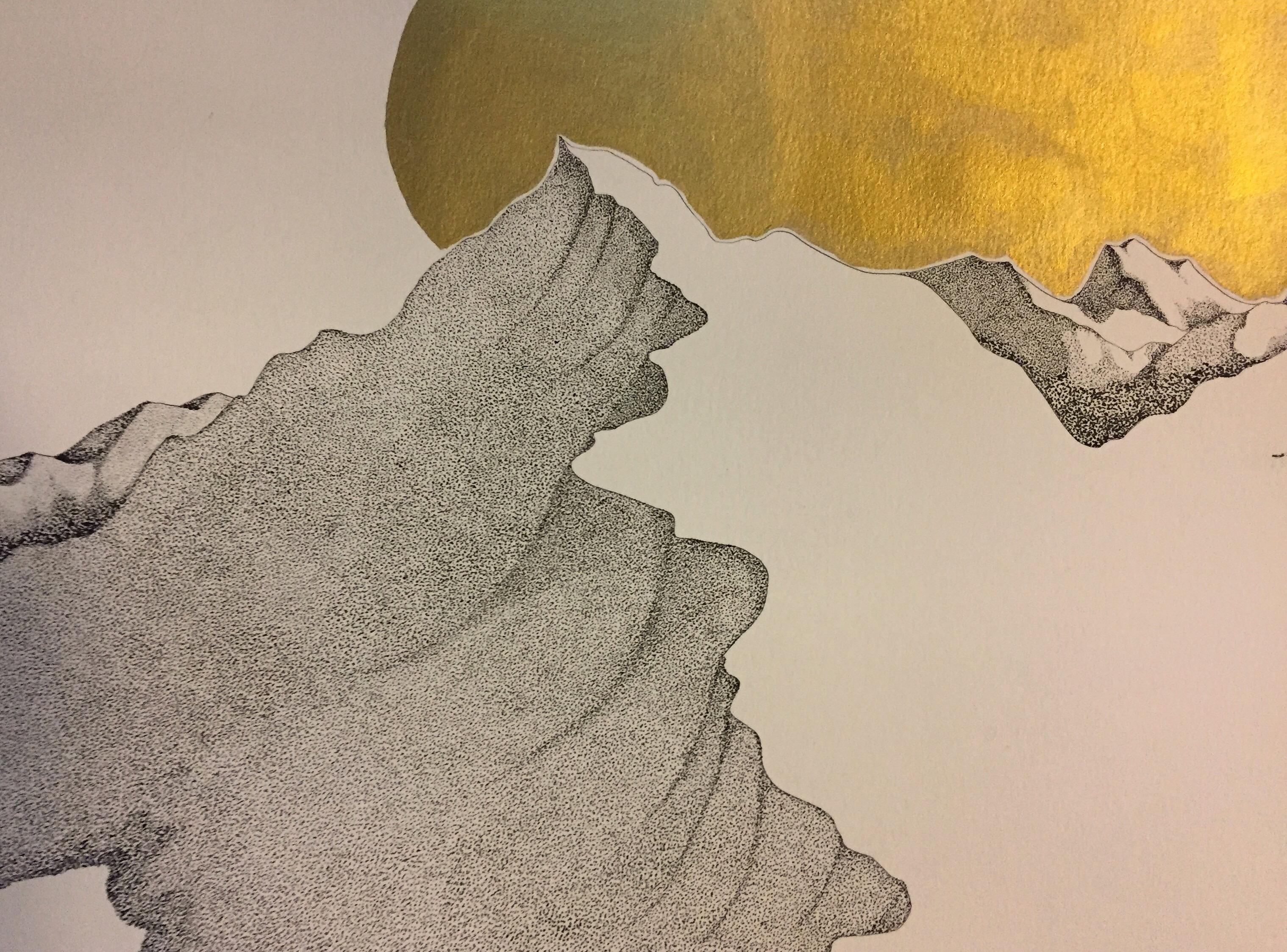 Golden Swept Sky