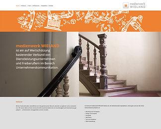 Ansicht von MWW Website