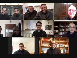 """""""Il virtuale è reale"""" don Alberto Ravagnani incontra i Frati Minori di Abruzzo-Lazio"""