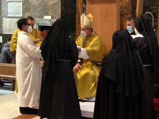 Professione solenne di una nuova Clarissa nella Chiesa di Rieti