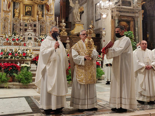 Il Ministro generale OFM benedice Roma dalla Basilica dell'Aracoeli.