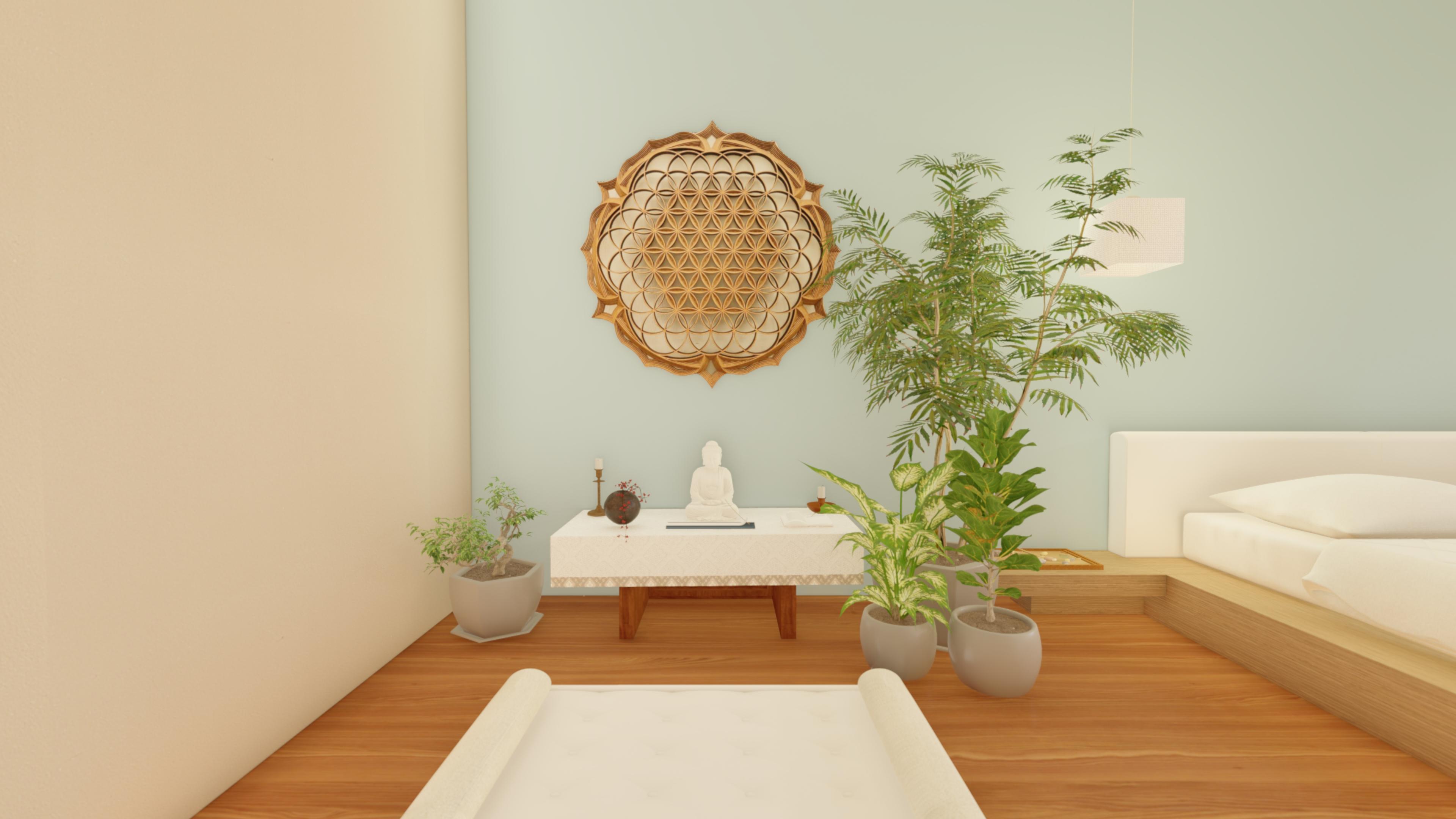 Espaço de meditação