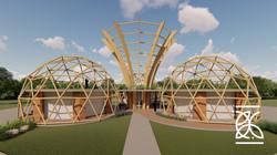 Bambu na arquitetura