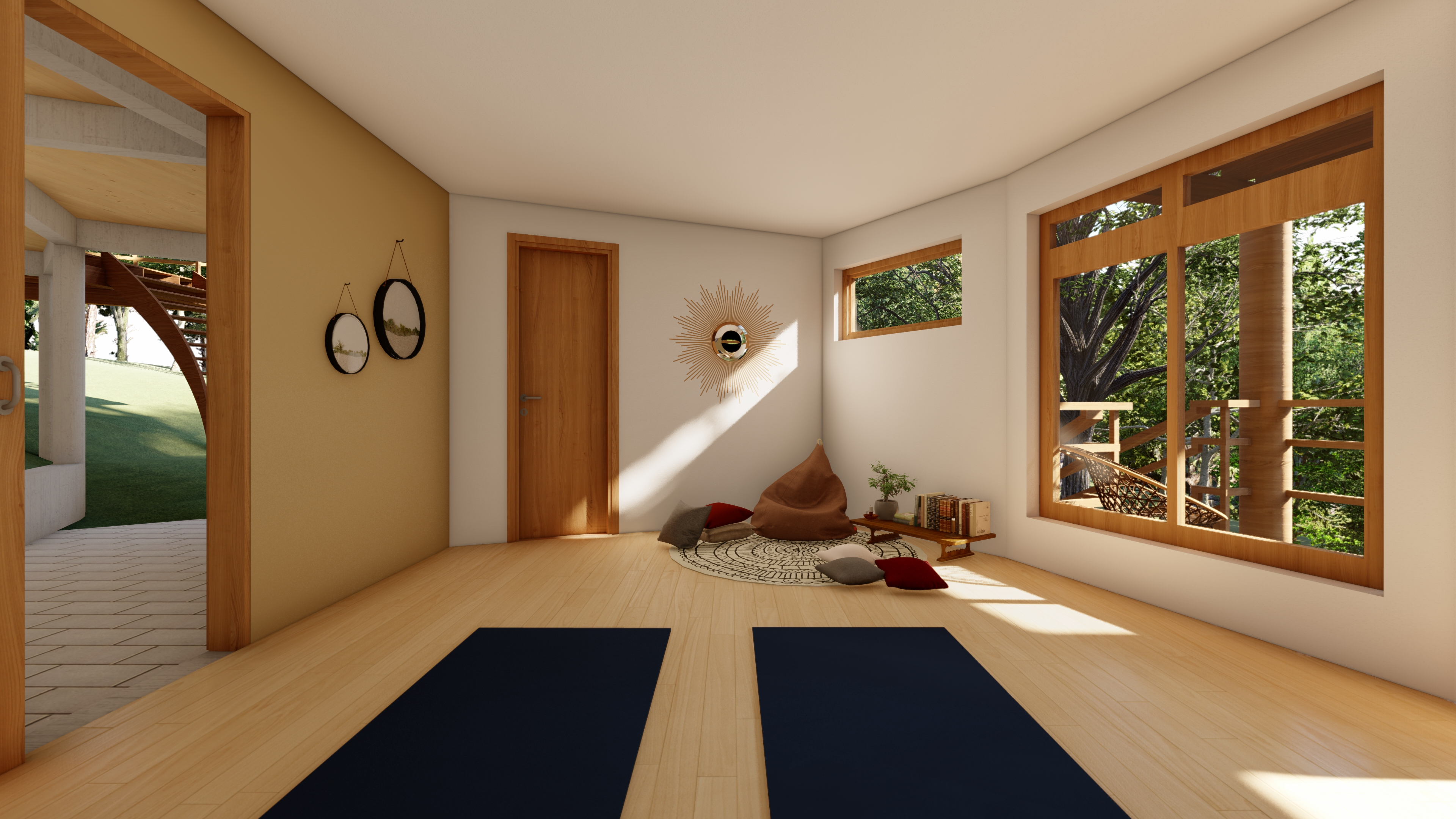 Espaço de Yoga