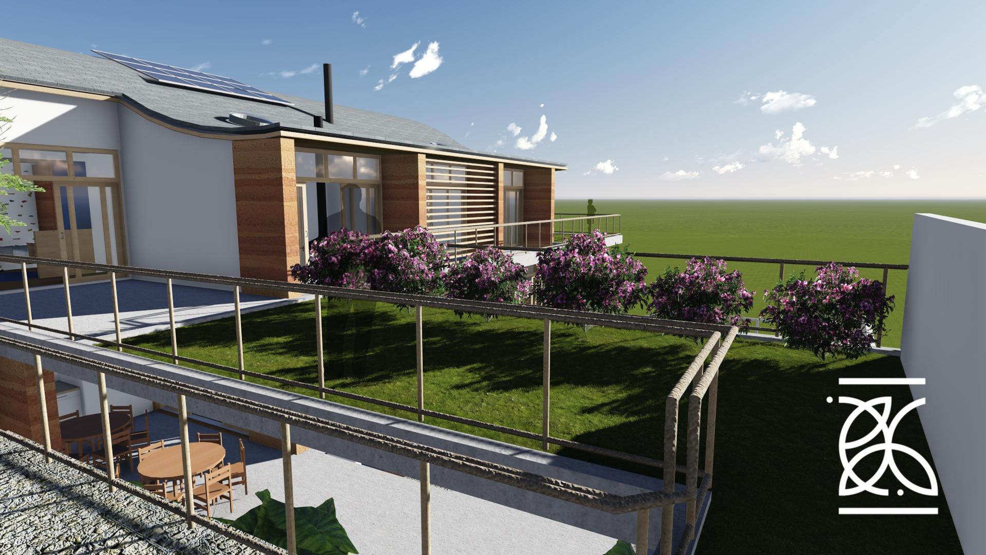 Telhado Verde - aumento da área útil
