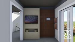 Home Theater com varanda
