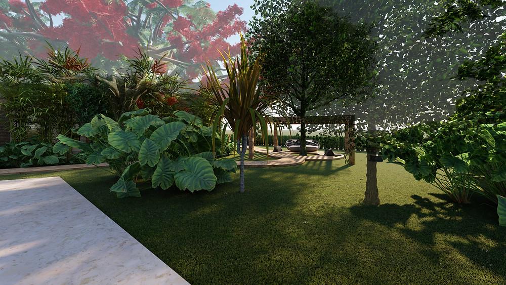 Projeto paisagismo ecológico Tellus Arquitetura