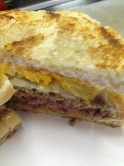 3 Cheese Cheesy Cheesburger