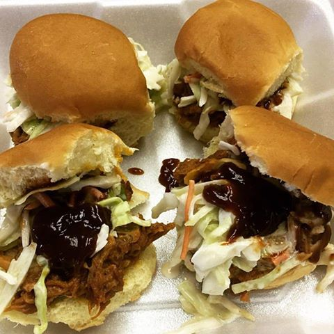 Carolina Pulled Pork Sliders