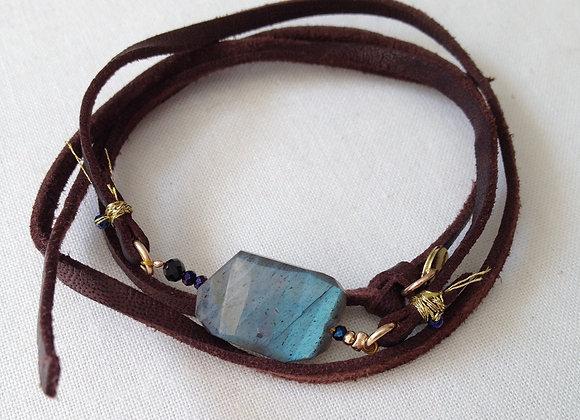 bracelet ELEGANCE marron