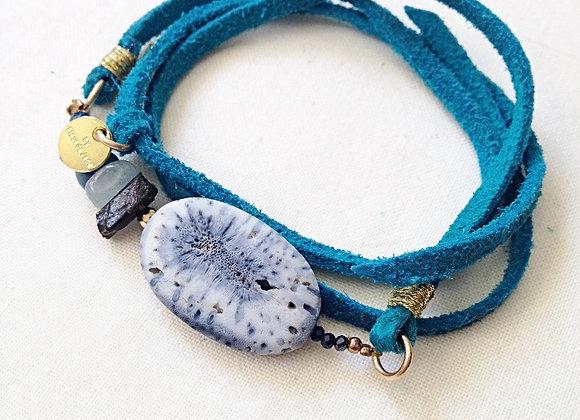 bracelet PHÈDRE turquoise