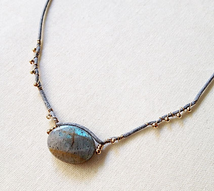collier Luce de by fleur de Jade