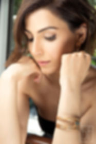 bracelet MOORE de by fleur de Jade