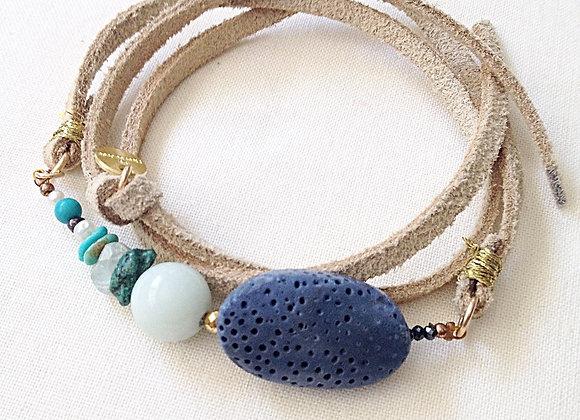bracelet PHÈDRE vanille