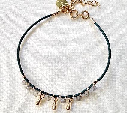 bracelet PREPPY de by fleur de Jade