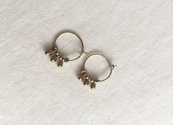 boucles d'oreille LILLY