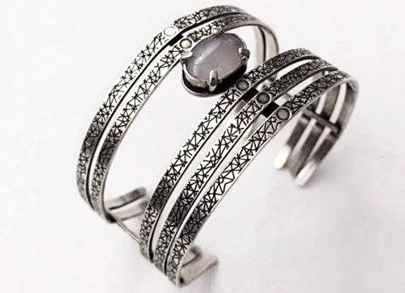 bracelet MOORE argent antique 925