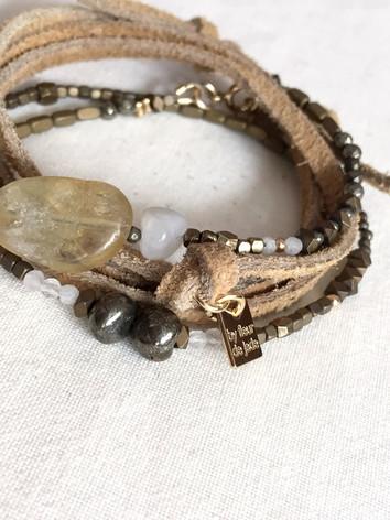 Bracelet Penelope beige
