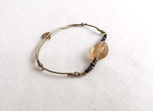 Bracelet GISELLE Citrine