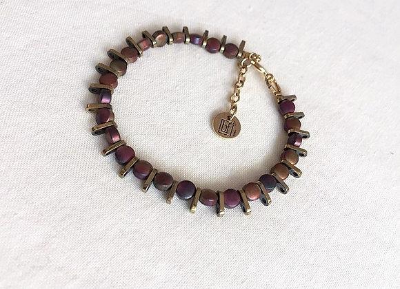 Bracelet ROCKY irisé