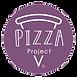 Purple Pizza project takeaway logo
