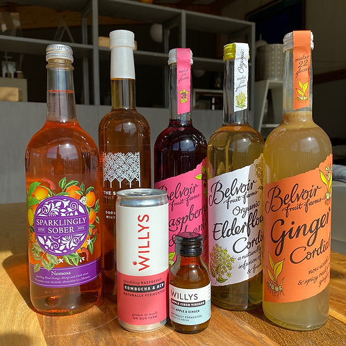 More soft drinks and cordials