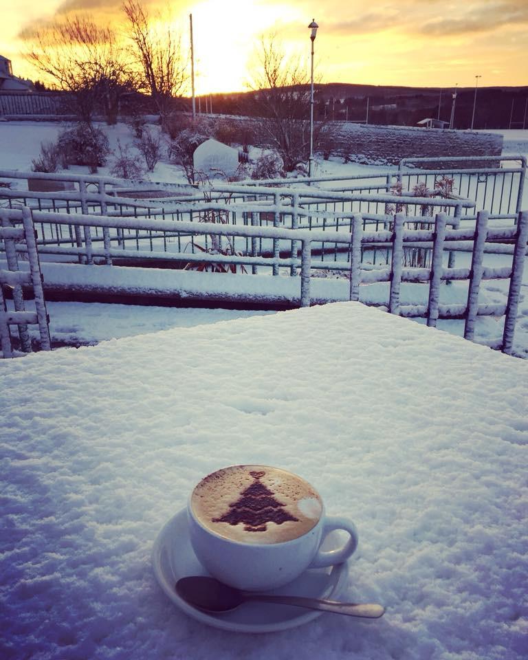 Christmas Coffee Buchanan Bistro Banchory