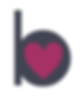 Buchanan Bistro b logo with heart for Valentines day in banchory