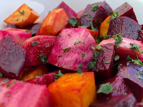 Roast vegetables & potatoes