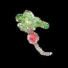 red radish illustration
