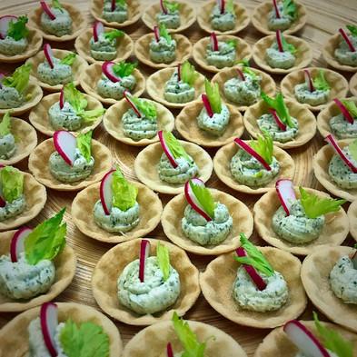 wedding catering vegan Banchory