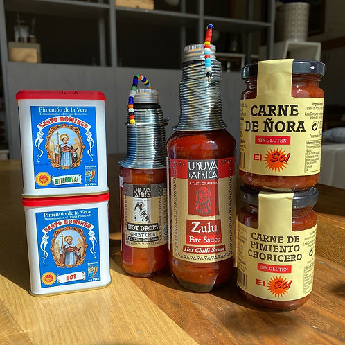 Sauces, pastes & sprinkles