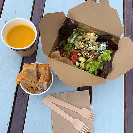 Food to go in takeaway box Banchory