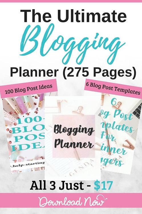 Blogging Planner Bundle