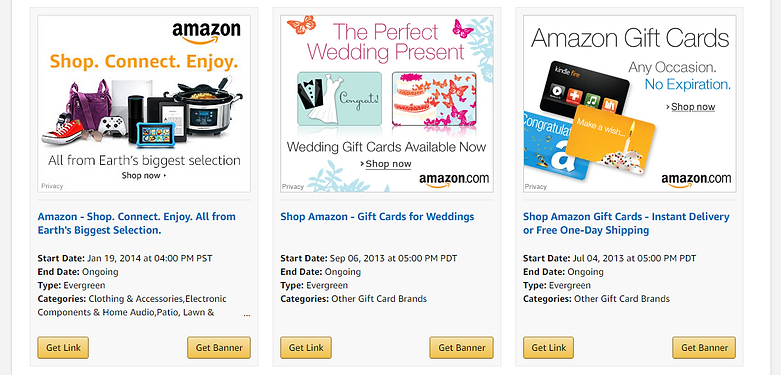 Amazon Affiliates Promotion
