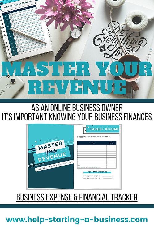 Master Your Revenue | Business Expense & Revenue Tracker
