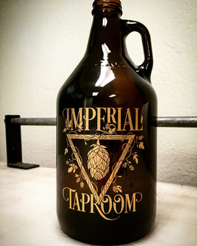 Imperial Taproom Metallic Decal