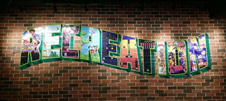 Recreation Brick Wall Wrap