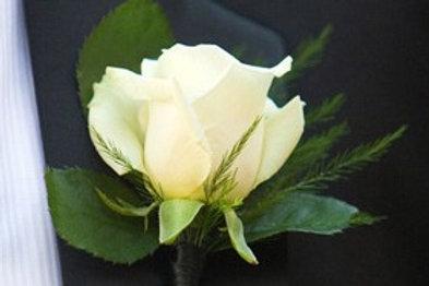 1-Fresh Flower Boutonniere