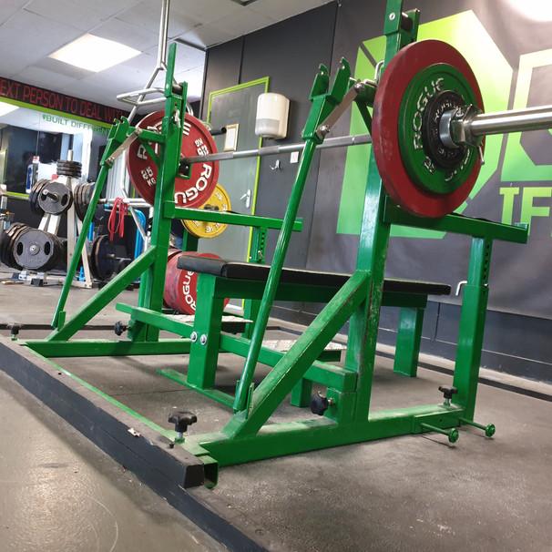 Comp Rack Bench Set-up