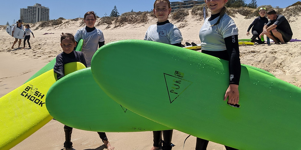 Surfing Excursion 7 - 11 year olds