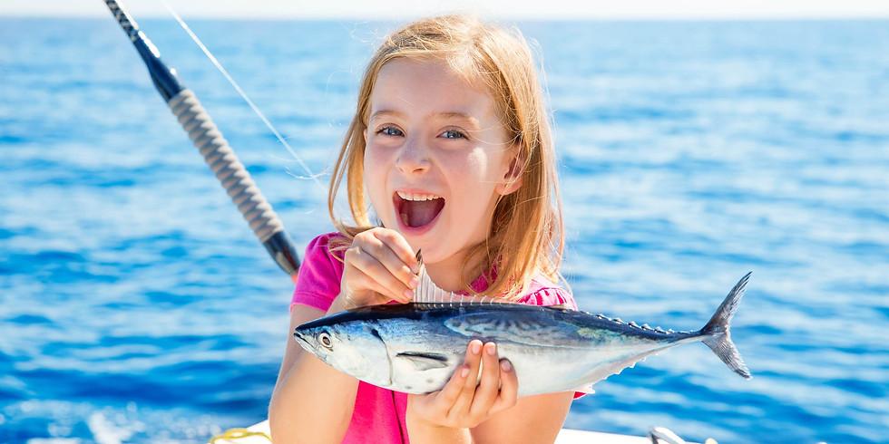 Fishing Excursion 6+ - AT CAPACITY
