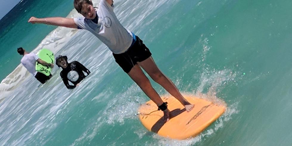 Teens Surfing Excursion