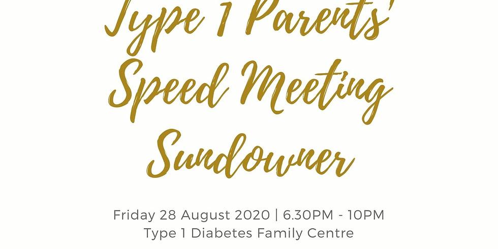Type 1 Parents Speed Meeting Sundowner