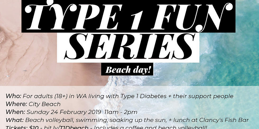 Type 1 Fun Series - Beach day out!