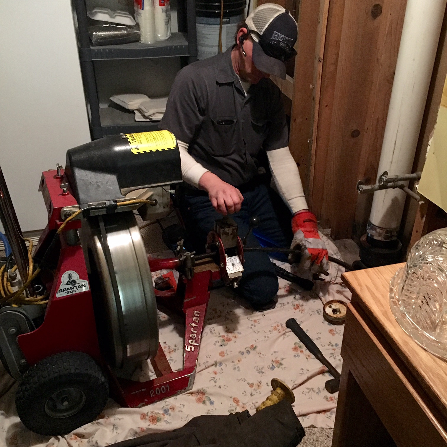Main Sewer Cleaning