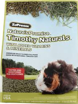 Zupreem Timothy Naturals Guinea Pig Food 5#
